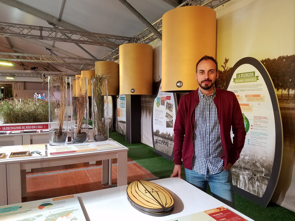 Exhibition Curator Davide Mantovani