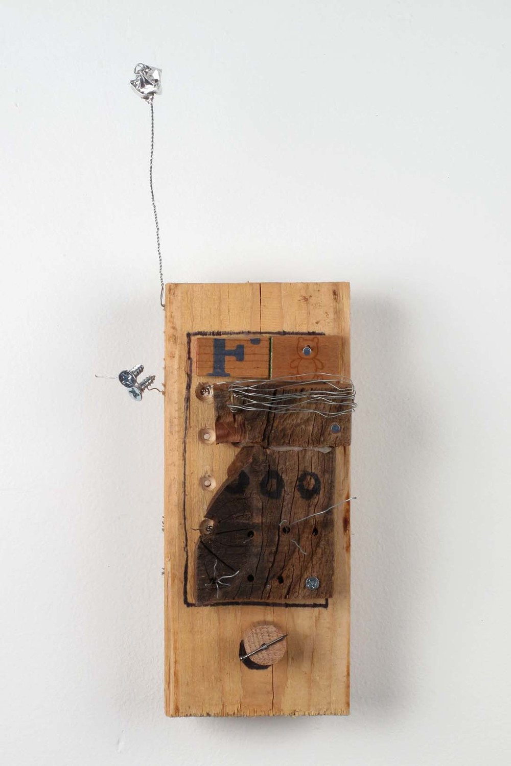 Wooden Phone (Wires)