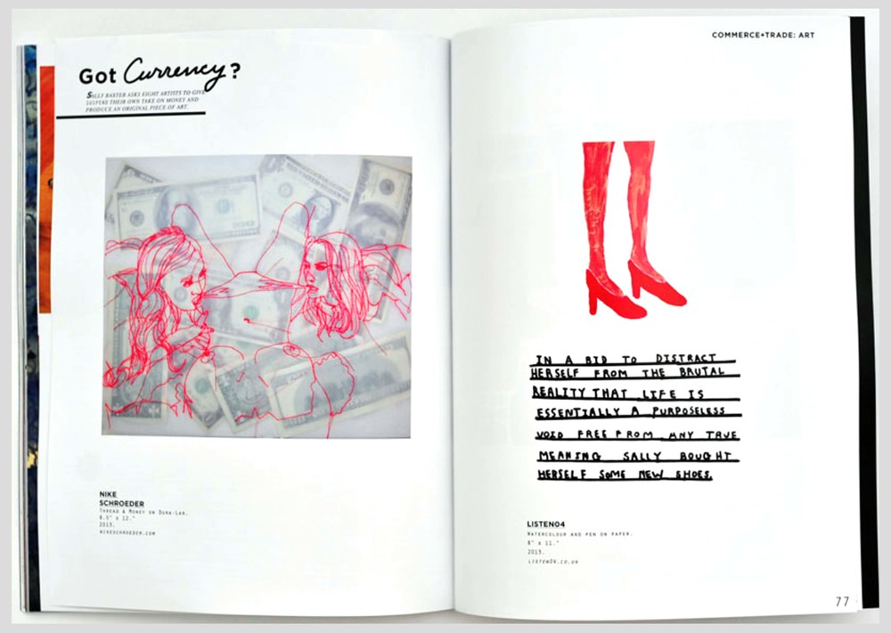 Issue #4 - 'Commerce & Trade'  Suspend Magazine