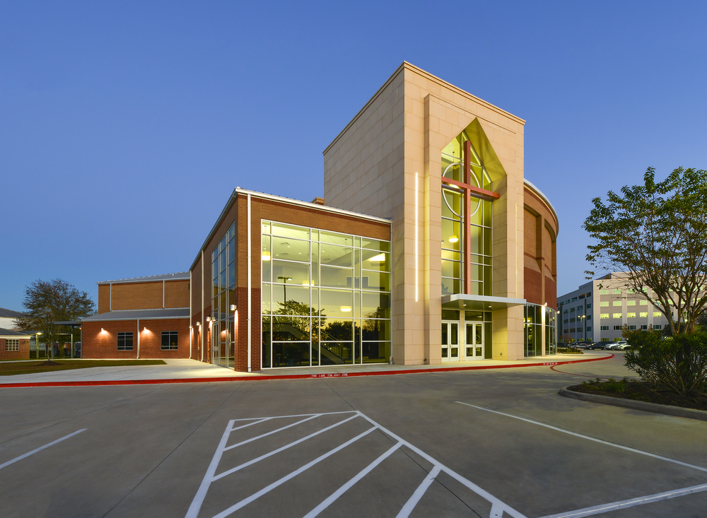 Good Shepherd United Methodist      Location: Cypress, Texas   Scope: New 1200-seat worship center   Architect: Turner Duran Architects   General Contractor: Brookstone Construction