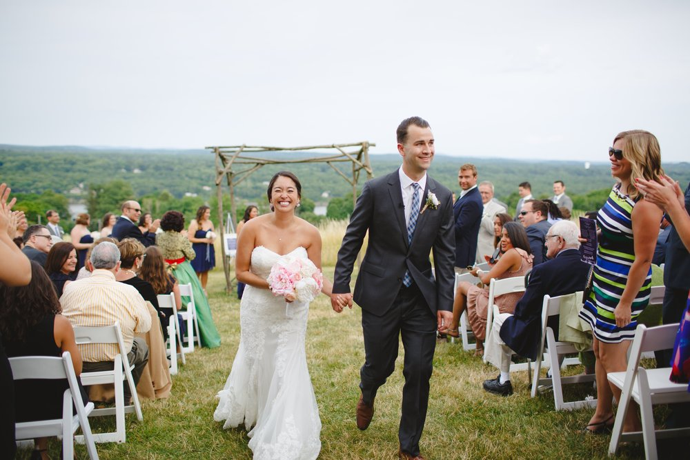 Red Maple Vineyard Wedding - New York