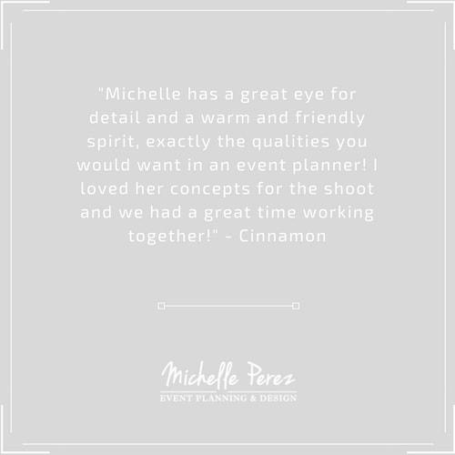Michelle Perez Events Wedding Planner & Coordinator New Jersey