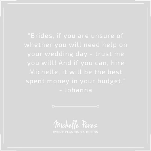 Michelle Perez Events New York Wedding Planner