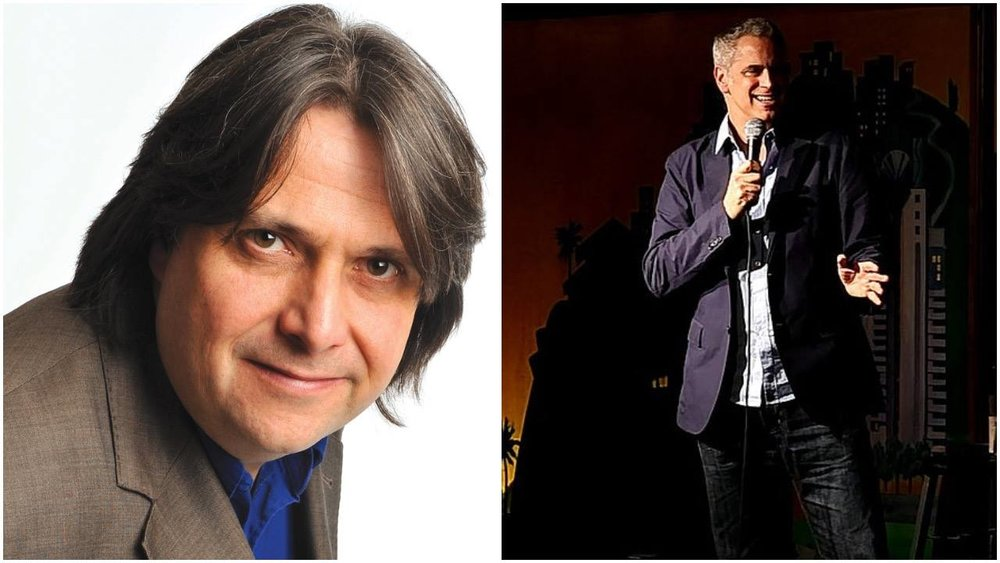 English Comedy - Another wonderful night of laughter.Alan Francis from Scotland and Mike Capozzola from the US. Two great entertainers.