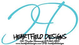 Heartfield Designs www.heartfielddesigns.com Contact: Mandi Boyette heartfielddesigns@gmail.com 409.860.4800