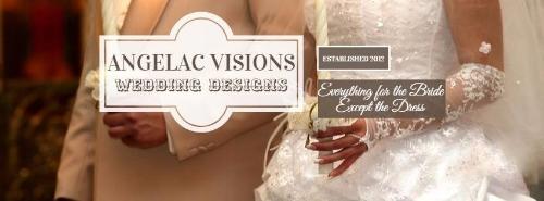 Angelac Visions Wedding Designs etsy.com/shop/AVWeddingDesigns Contact: Angela Frazier angelacvisionsweddingdesigns@gmail.com facebook.com/angelafrazier.licensedminister 409.626.2590
