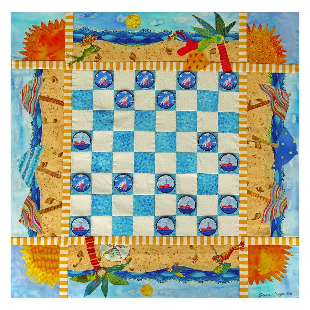 SHARK CHALLENGE IN PARADISE: A CHECKER BOARD CHALLENGE