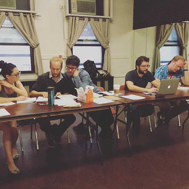 Casting in full swing for #madlibslive !! So many talented peeps!! #offbroadway #newworldstages #nyctheatre #talented #letsputonashow