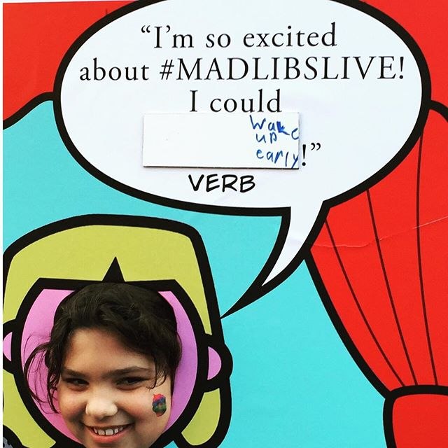 Some peeps will do anything for a ticket to #madlibslive at #newworldstages open this adorable, fantastic, add-you-own-adjective musical on Nov 1. Go to madlibslive.com to hear song clips, sign up for show updates and buy tickets! #musicaltheatre #wordplay #madlibs #familyfun #nyctheatre #nyc_highlights #nycevents #nyc