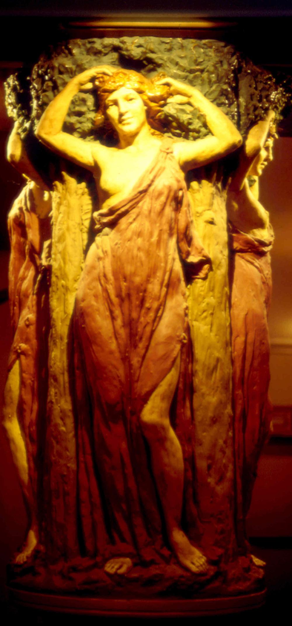 Wells Theatre Lobby statue.jpg
