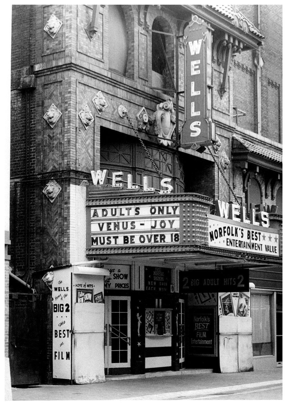 The Wells Theatre in 1979