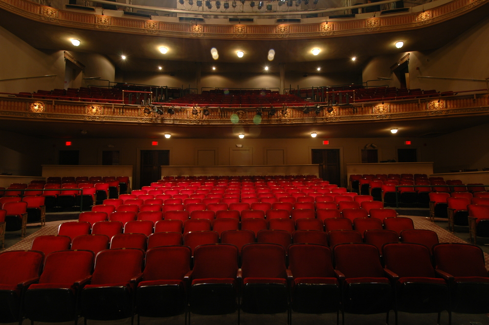 Seating in the Wells Theatre 2015