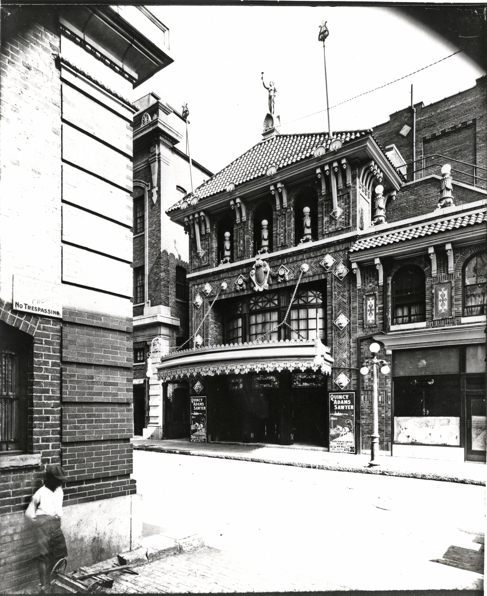 The Wells Theatre on August 30, 1913