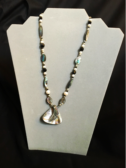 VSC Gala Abalone Necklace