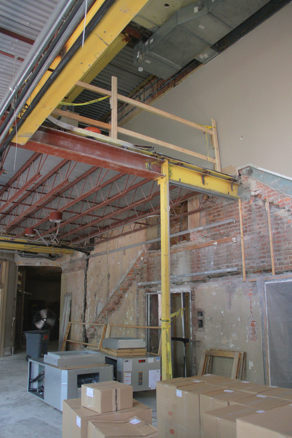 Side Lobby View of Future Stairs.JPG