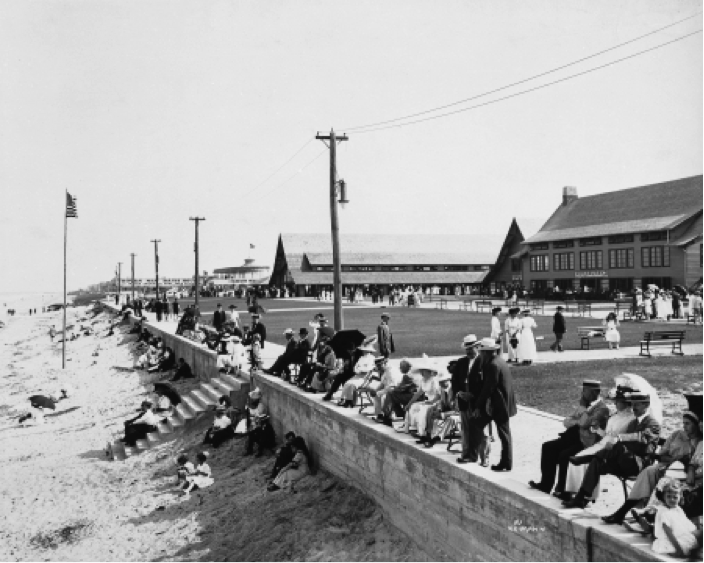 Virginia Beach boardwalk, 1930s