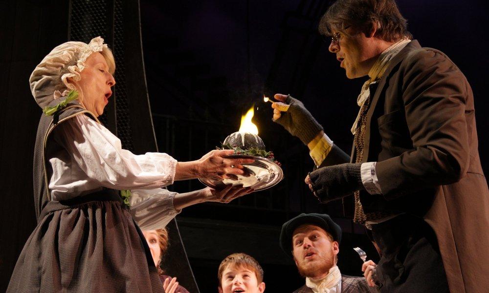The Pudding!,  A Christmas Carol , Season 35