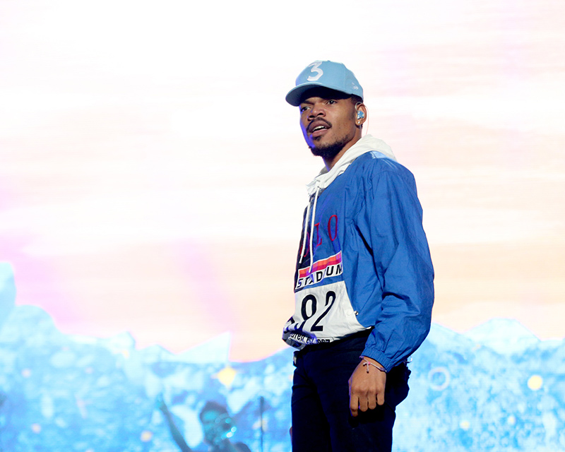 Chance the Rapper in '92 Ralph Lauren Stadium Collection C/O Flipboard