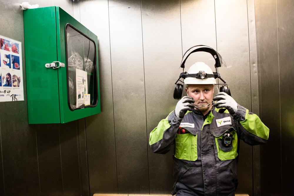 Olli Hynninen works in a pulp mill.  © Maaseudun Tulevaisuus
