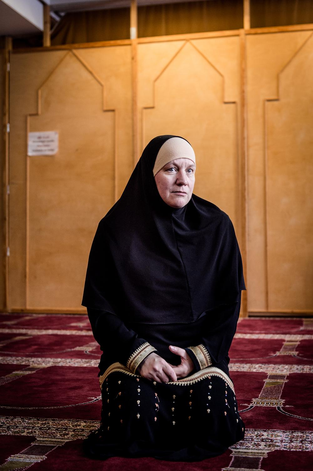 Pia Jardi leader of Finnish muslim women.  © Iltalehti