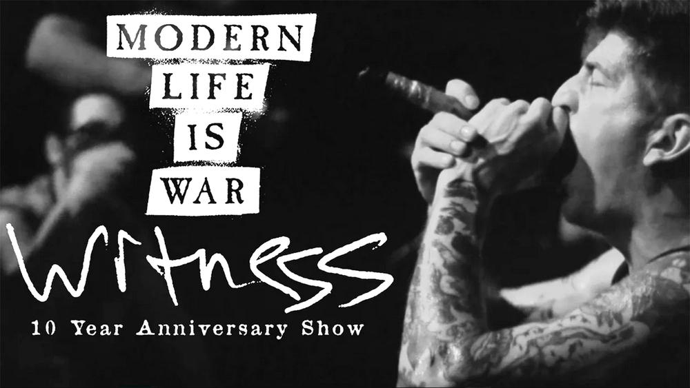 This image has been borrowed from the awesome Transpiritus who filmed Modern Life Is War playing a Witness live show at Vaudeville Mews in Iowa on 18th July 2015. You can watch that video here