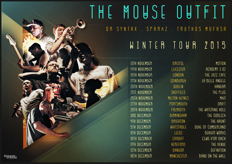 The Mouse Outfit Winter Tour 2015
