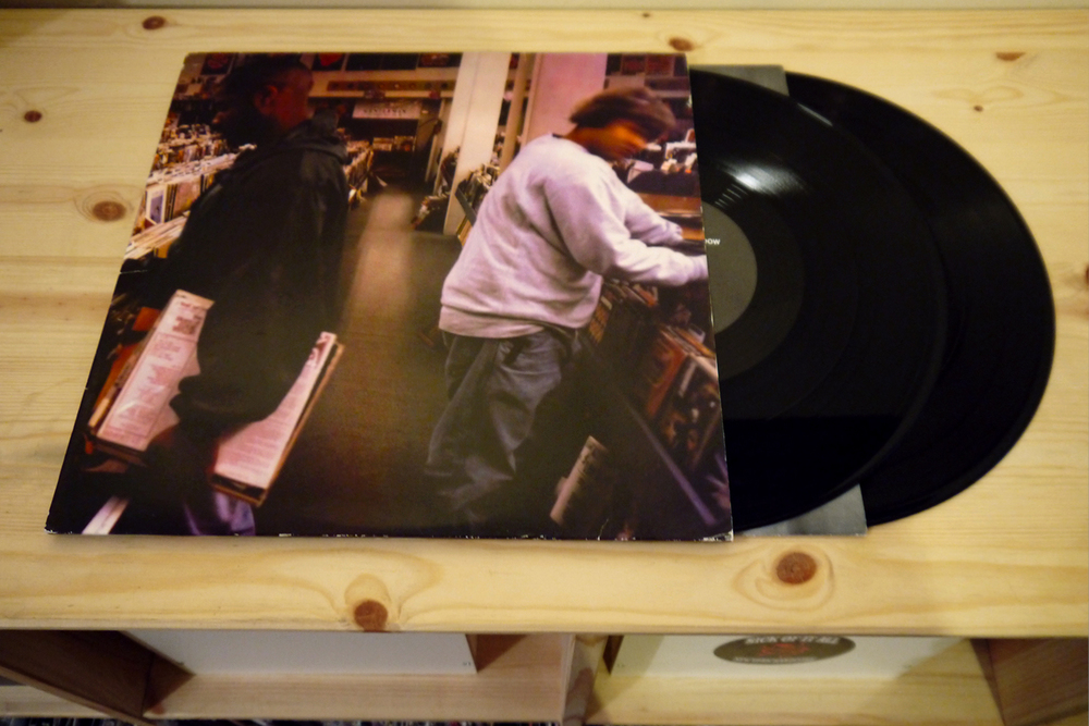 DJ Shadow 'Endtroducing…' Mo'Wax Records. 1996