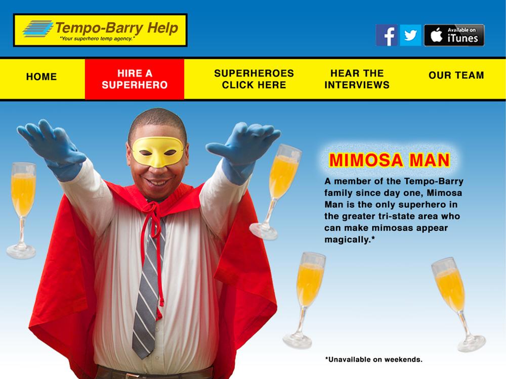 Mimosa Man!