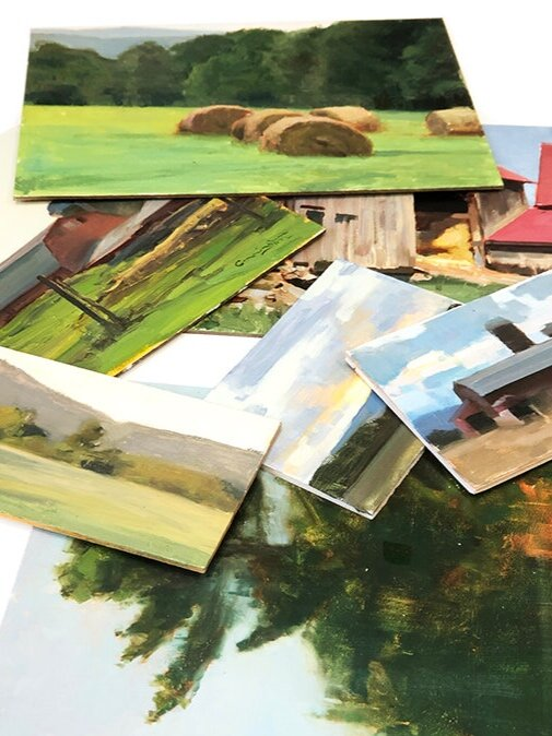 Now you know why I rarely sell my plein air paintings—I never know when I will need one.