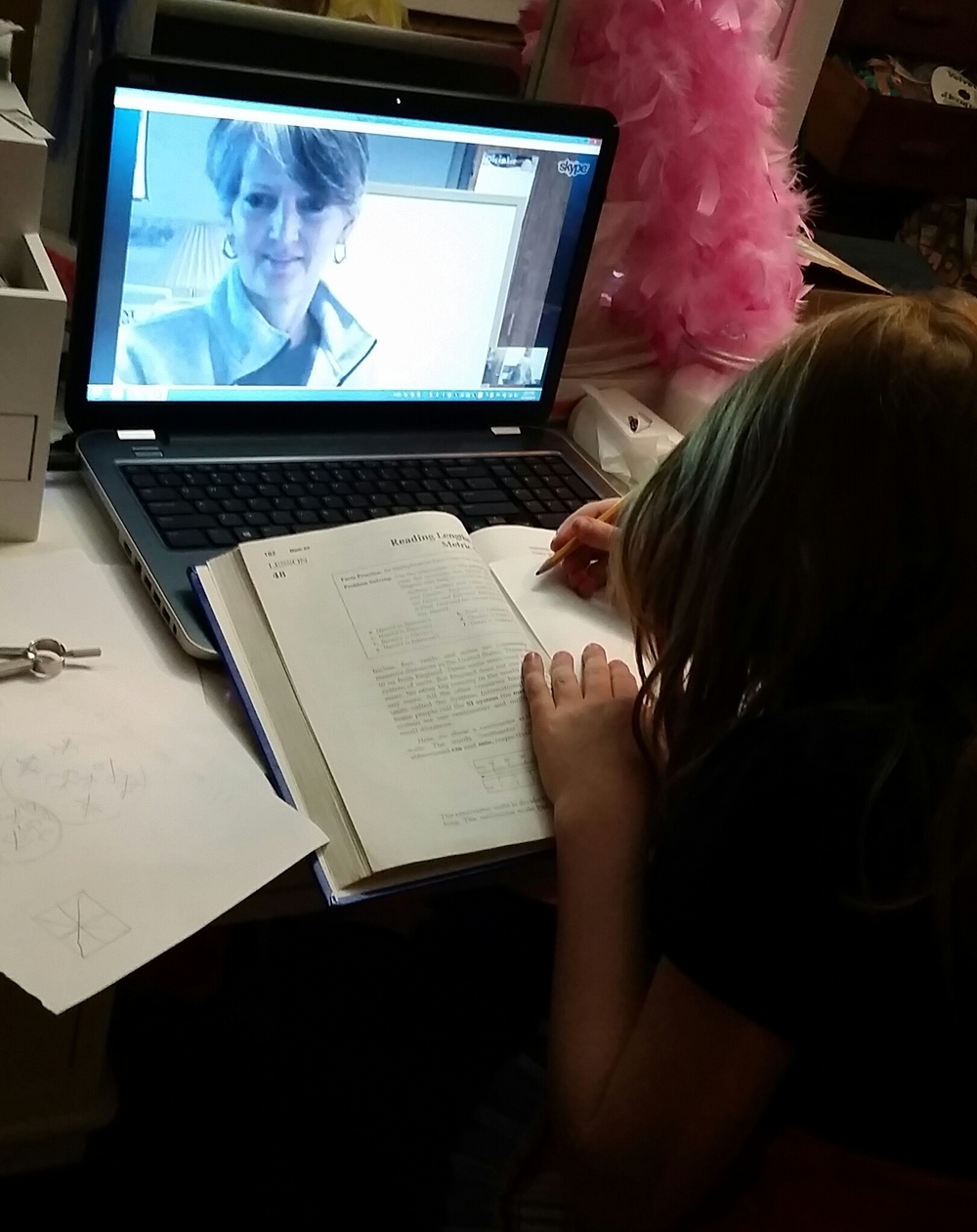 Tutoring Session via Skype