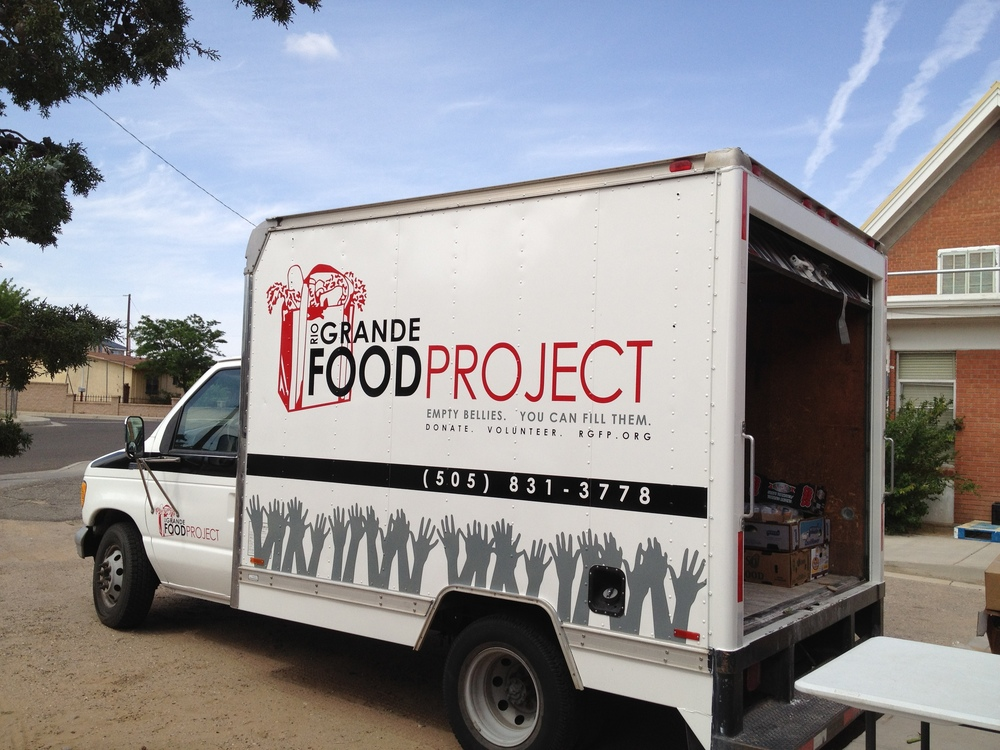 rio grande food project: logo, truck design, website, marketing materials