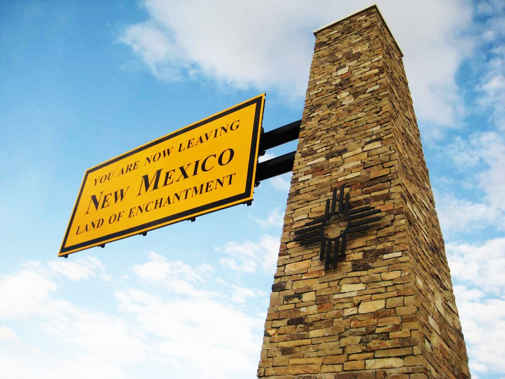 *new mexico gateway signs