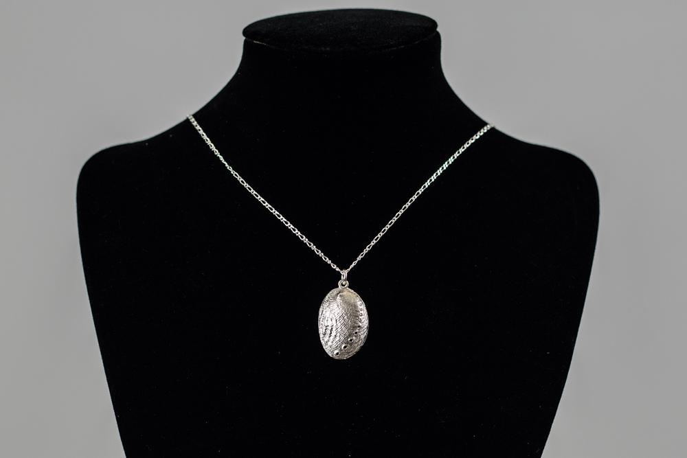 Sterling Silver 'Paua' Pendant