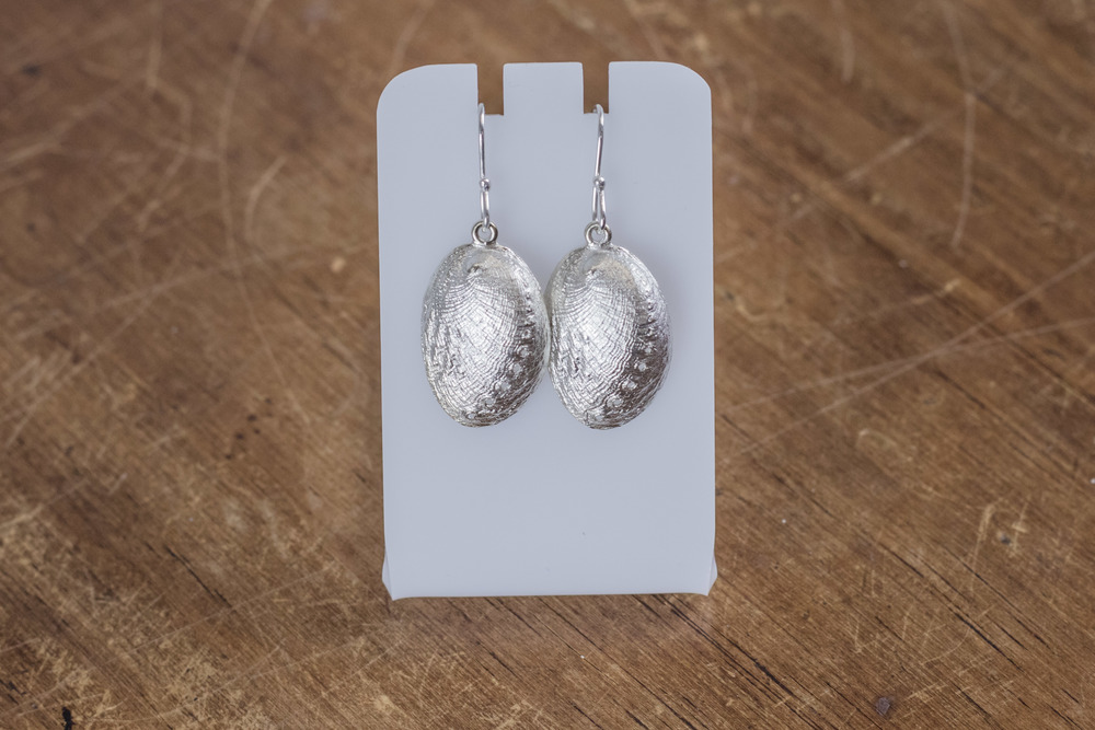 Sterling Silver 'Paua' Earrings