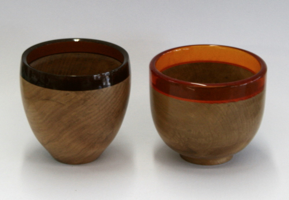 Two Resin Bowls