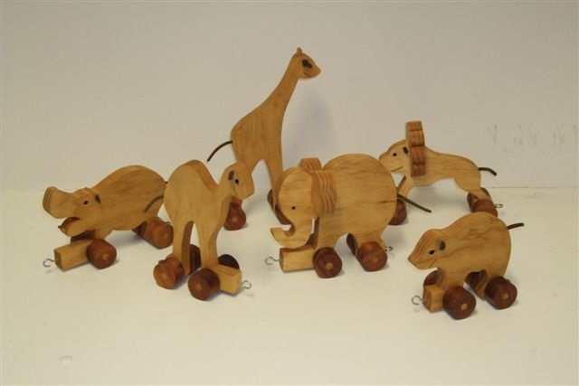 Animal Train Set