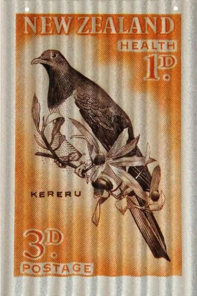 Kereru Stamp