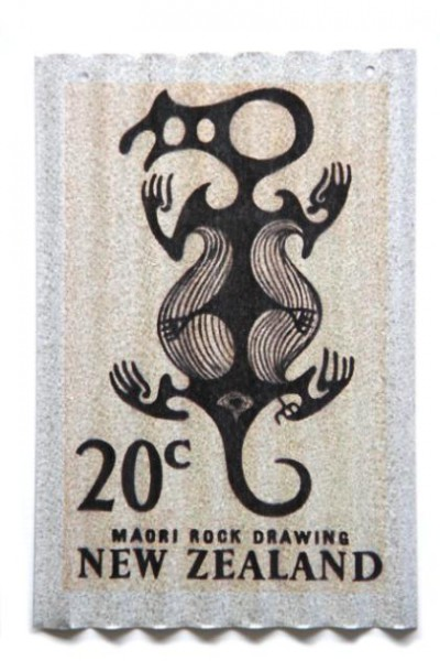 Rock Drawing Stamp