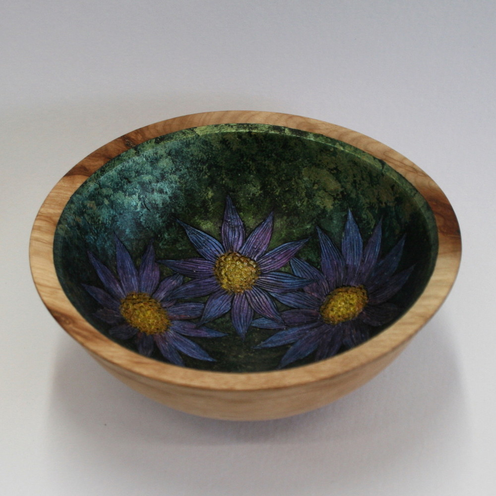 Three Flowers Bowl