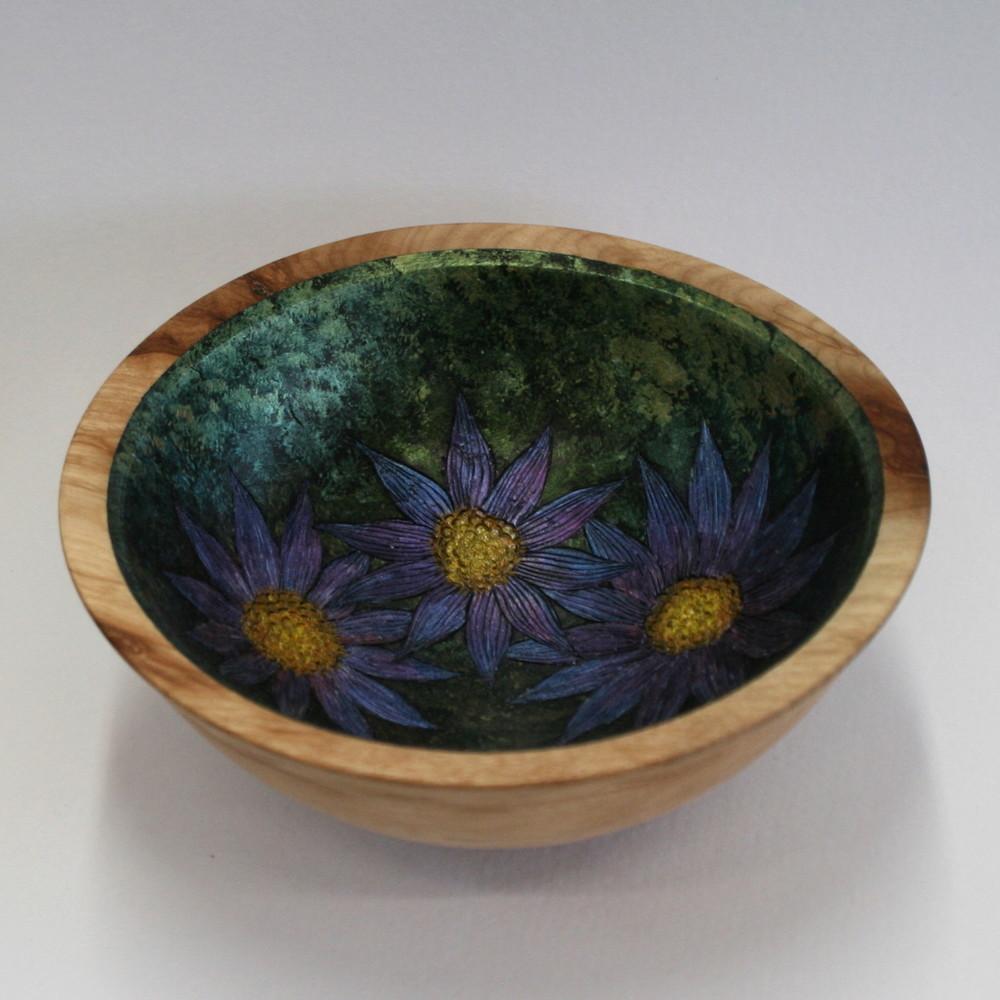 Three Flowers Bowl