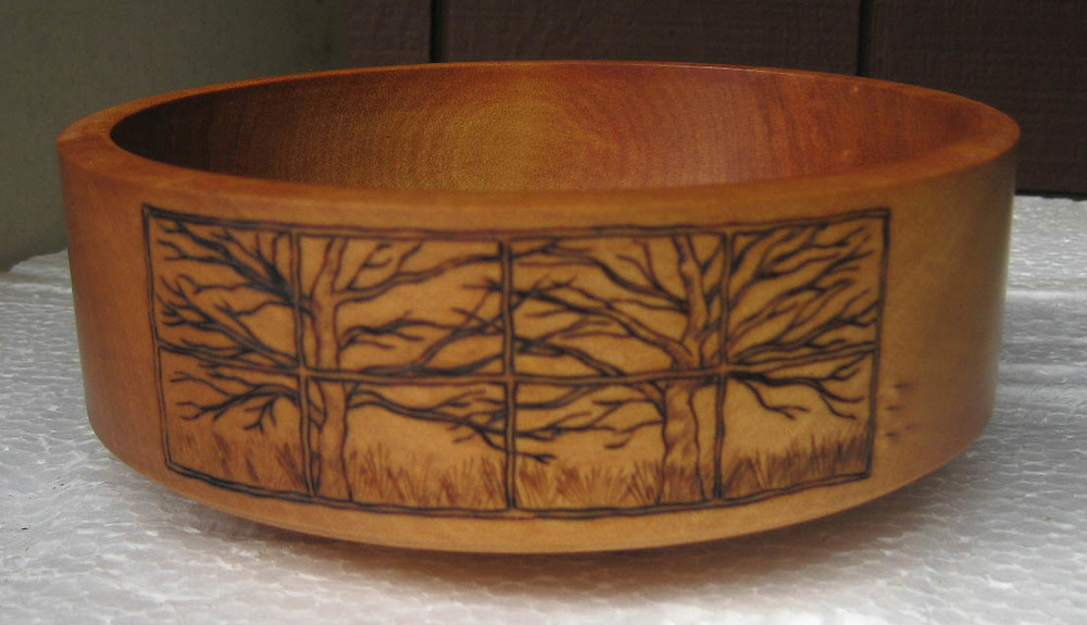 Winter View - Kauri Bowl