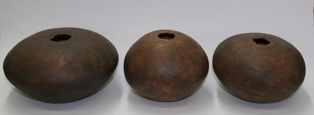 3 Pinch Pots