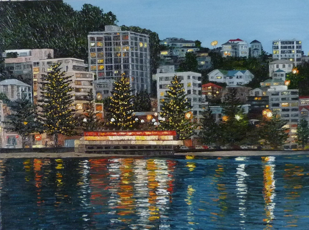 Oriental Bay Lights