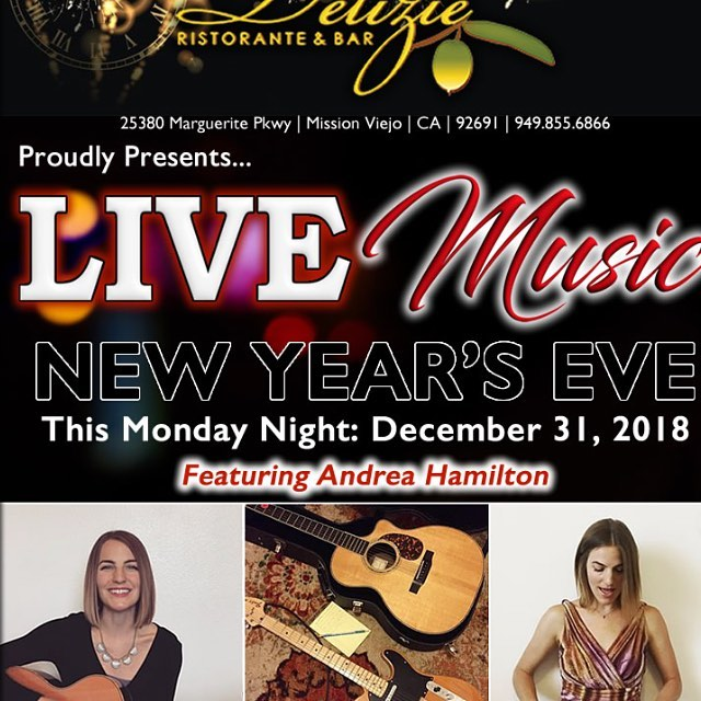 Live music New Years Eve, Join us!