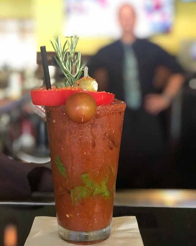 Delizie style Bloody Mary bye Danny the Bartender
