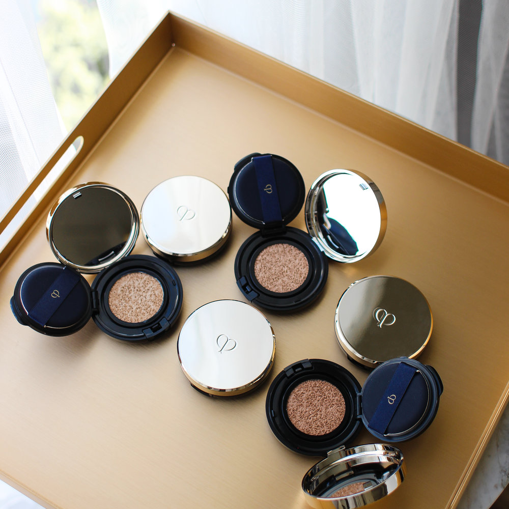 Clé de Peau Beauté  Radiant Cushion Foundation Campaign