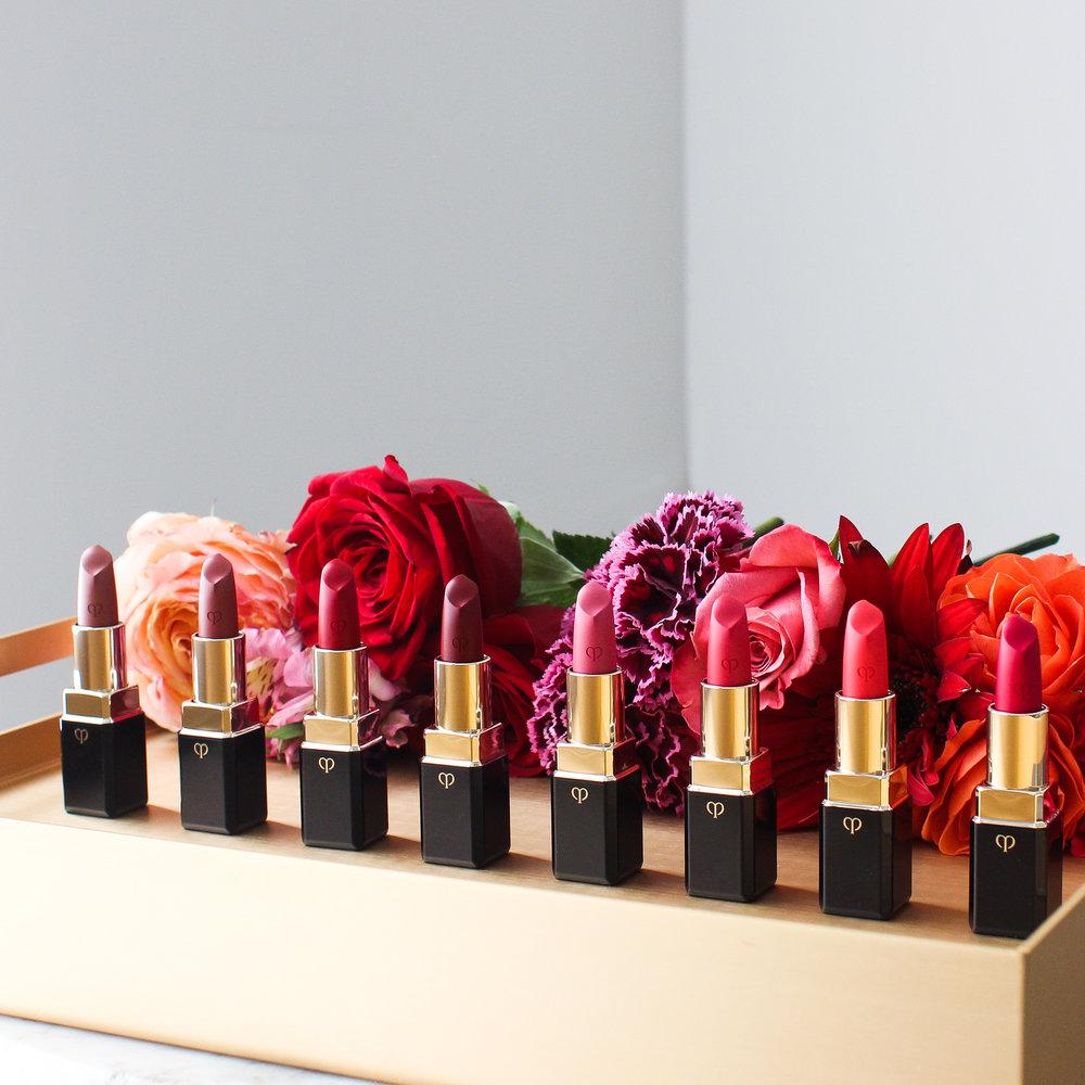 Clé de Peau Beauté  Lipstick Cashmere Campaign