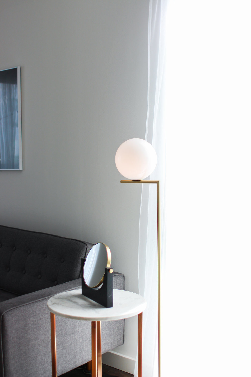 In collaboration with  Lumens Light and Living  | IC Floor Lamp by FLOS