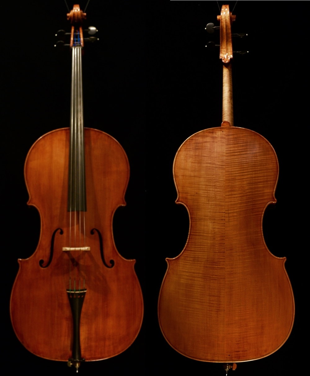 Pictured    here    is    the     K e i t h     H i l l     cello    opus     4 6 5     in   the   quartet