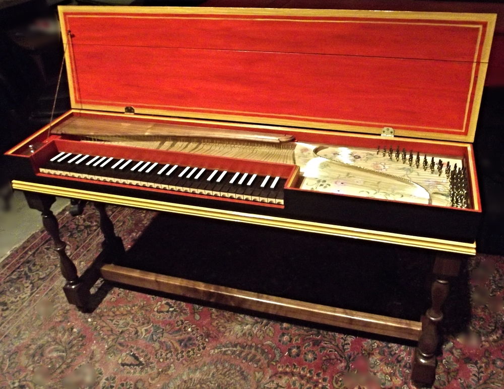 Clavichord made in 2015 by Keith Hill Opus 473 after HUbert